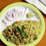 chole biryani – chana biryani Recipe (pressure cooker method)