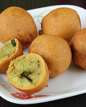 Aloo bonda recipe   How to make potato bonda recipe