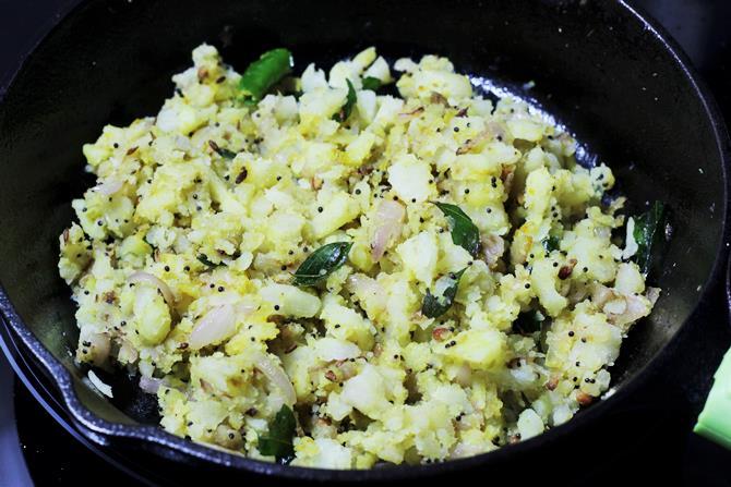 addition of coriander for bonda