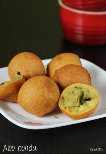 Aloo bonda recipe | How to make potato bonda recipe