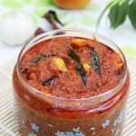 andhra tomato pickle recipe | nilava tomato pachadi recipe, how to make andhra tomato pickle
