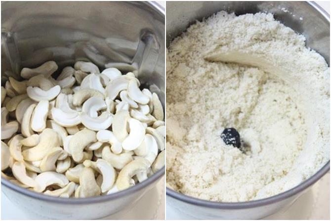 cashews for kaju katli