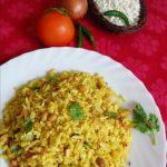 mandakki oggarane /seasoned puffed rice / uggani / borugula upma