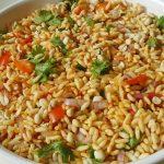 churmuri   masala mandakki   puffed rice chaat