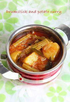 Drumstick potato curry recipe   Drumstick recipes
