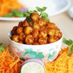 dry chana masala recipe – easy chole recipe