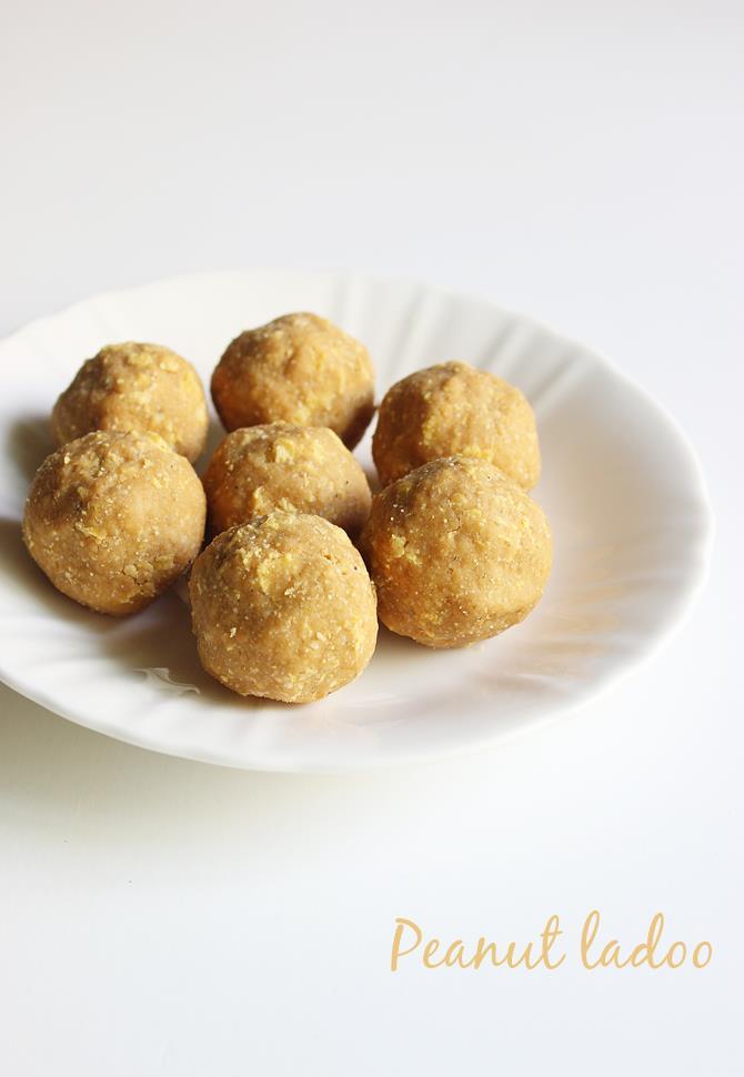 cornflakes peanut ladoo recipe