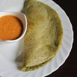 pesarattu recipe or moong dal dosa, how to make pesarattu dosa