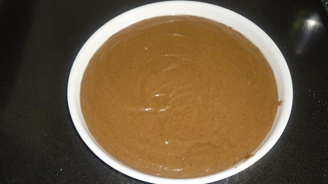ragi flour cake batter for ragi chocolate cake