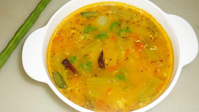 drumstick sambar recipe