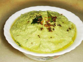 Ridge gourd skin chutney | Heerekai sippe chutney | Beerakaya thokku pachadi