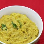 green tomato chutney | raw tomato chutney recipe | pachi tomato pachadi