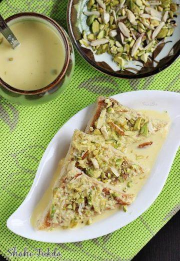 Shahi tukda (Shahi tukra)   Double ka meetha recipe   Sweets recipes