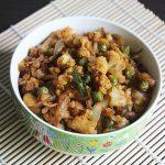 gobi kheema recipe | minced cauliflower | cauliflower recipes