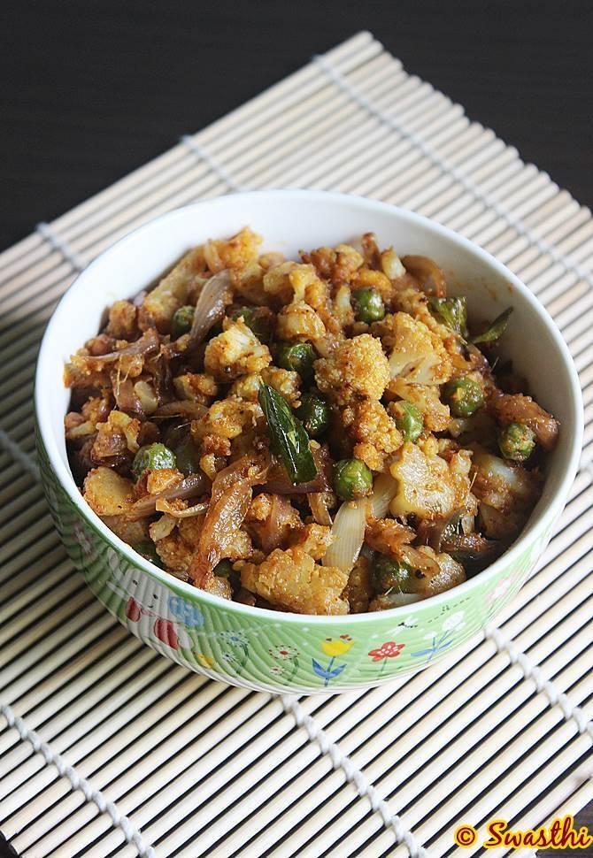 Gobi kheema recipe minced cauliflower cauliflower recipes gobhi kheema recipe forumfinder Images