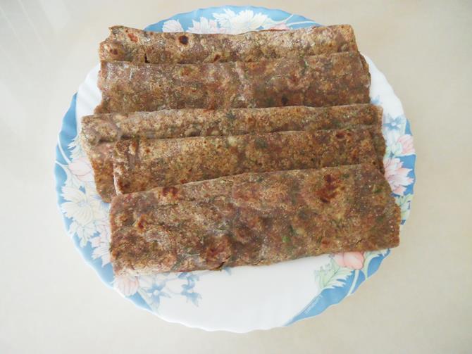 soft ragi roti recipe