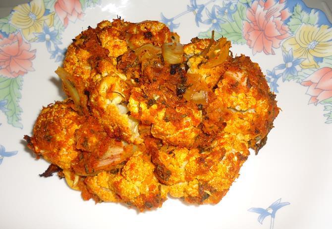 tandoori gobi recipe - grilled sabut gobi - grilled whole ...