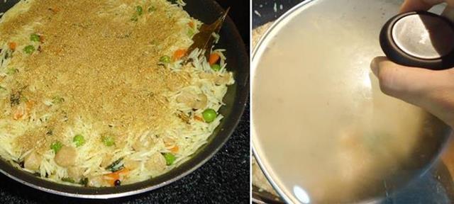 veg yakhani pulao step 4