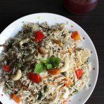 vegetable yakhni pulao (biryani) recipe, how to make veg yakhni pulao