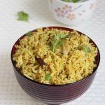 andhra chicken biryani recipe – quick biryani using yogurt