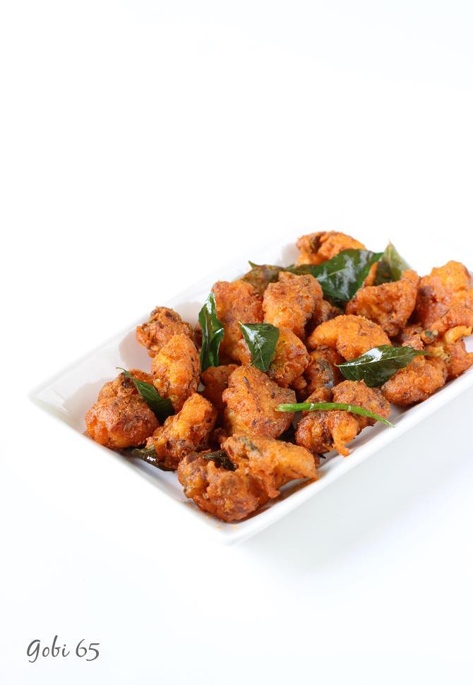 restaurant style gobi 65 recipe swasthis recipes