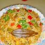 bombay biryani recipe | wedding style veg dum biryani recipe