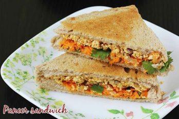 Paneer sandwich recipe | How to make paneer sandwich recipe