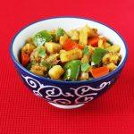 aloo capsicum recipe – dry aloo capsicum curry recipe