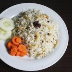 Cashew pulao recipe   Kaju pulao recipe (Andhra wedding style)