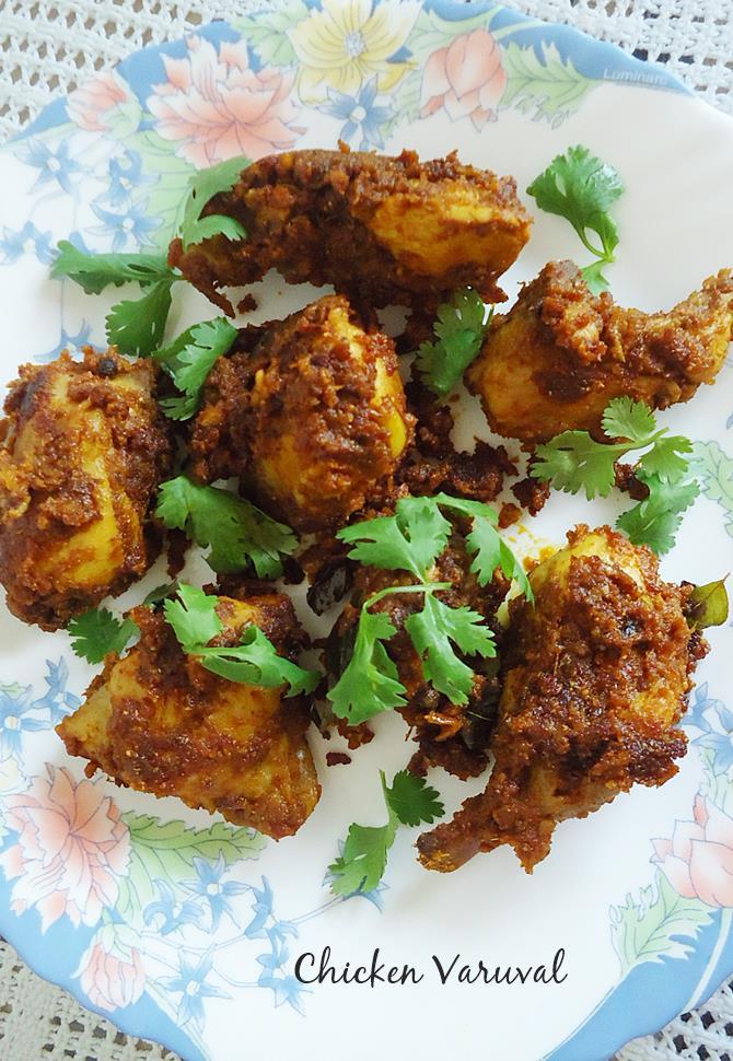 Andhra spicy chicken fry recipes