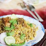 hyderabadi chicken biryani recipe, how to make hyderabadi chicken biryani