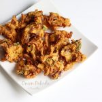 onion pakoda or pakora recipe, how to make onion pakoda