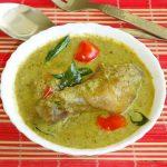 hariyali chicken recipe – green chicken curry – hariyali murgh masala