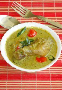 Hariyali Chicken Recipe Green Chicken Curry Hariyali Murgh Masala