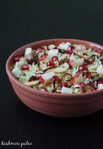 kashmiri pulao recipe, how to make kashmiri pulao   pulao recipe