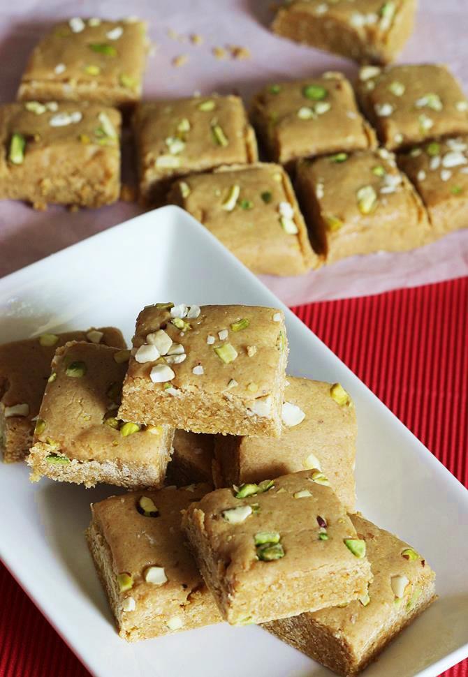 gujarati sweet mohanthal recipe