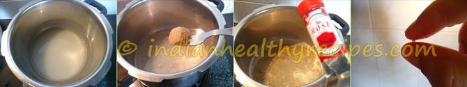 sugar syrup for oats burfi