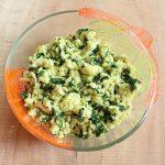 Palak paneer bhurji recipe, how to make palak paneer bhurji in 20 minutes