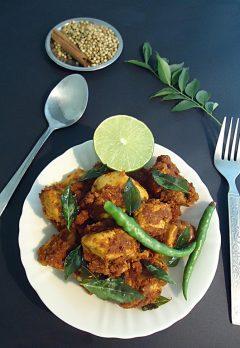 Kodi vepudu | Andhra chicken fry recipe | Guntur spicy chicken recipe