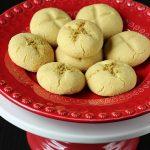 Besan Nankhatai Recipe – Indian Chickpeas Flour Cookies