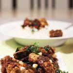 chicken ghee roast recipe   ghee roast chicken recipe