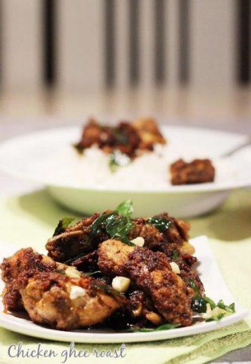chicken ghee roast recipe | ghee roast chicken recipe