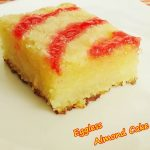 eggless almond cake recipe | eggless cake recipes