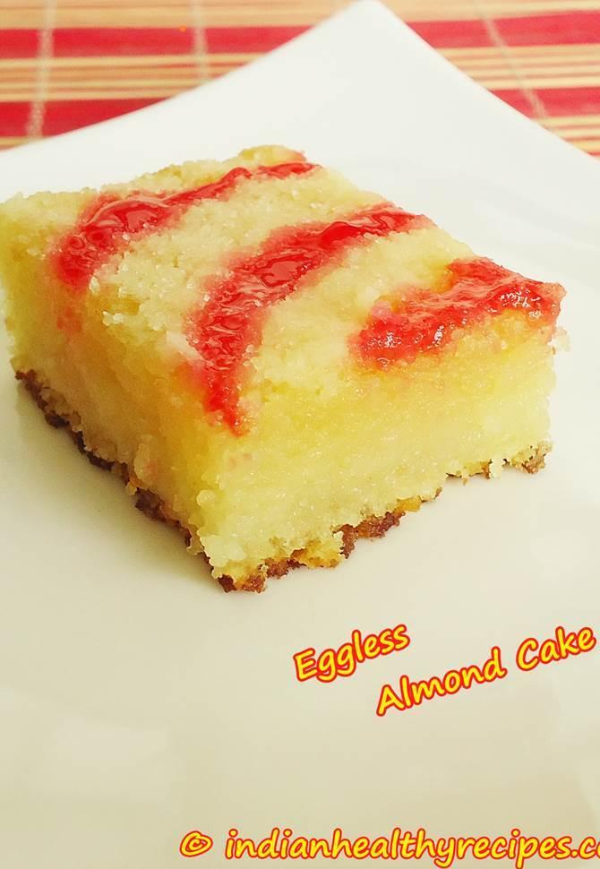 Indian recipe eggless cake