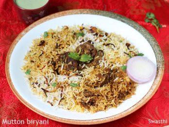 Hyderabadi recipes 60 recipes from hyderabadi cuisine veg non veg mutton biryani recipe how to make mutton biryani recipe mutton recipes forumfinder Image collections