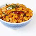 potato fry, how to make potato fry | aloo fry recipe