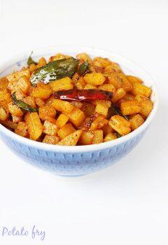 Potato fry recipe video | Aloo fry recipe | how to make potato fry recipe