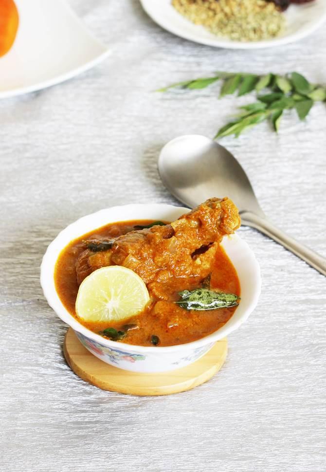 Chicken chettinad gravy recipe chettinad chicken curry recipe forumfinder Image collections