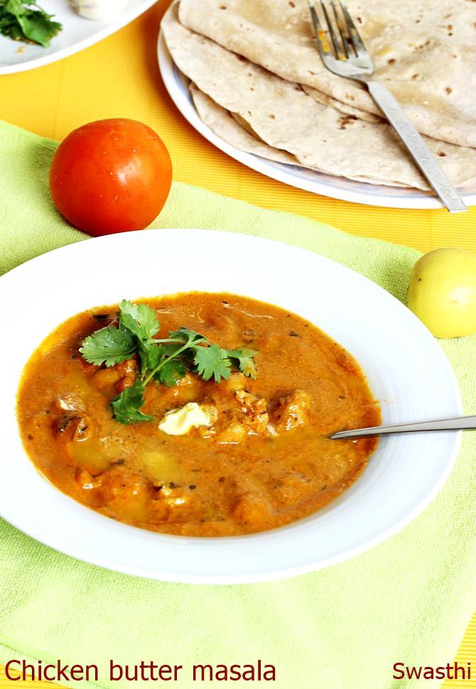 Chicken butter masala recipe indian butter chicken masala recipe forumfinder Choice Image