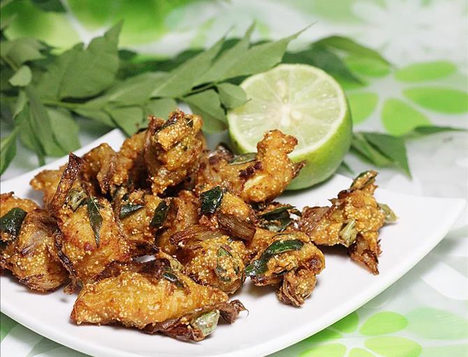 hot restaurant style chicken pakora recipe